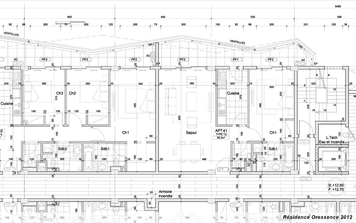 Planb agence de r alisation de plans et d 39 images d for Dessin plan architecture